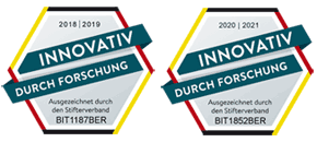 Innovationspreis 2019 und 2020